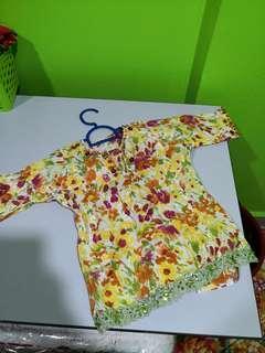Baju Kurung Budak ( 1-2 years )