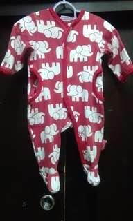 Sprout sleepsuit