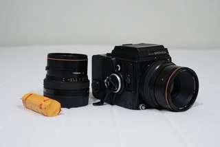 Bronica Zenza SQ-A 80mm,50mm & 120film