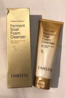 [全新]Tonymoly Ferment Snail Foam Cleanser