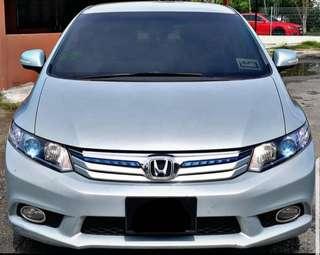 2014 HONDA CIVIC FB 1.5 AUTO HYBRID FUEL SAVER SAMBUNG BAYAR CAR CONTINUE LOAN