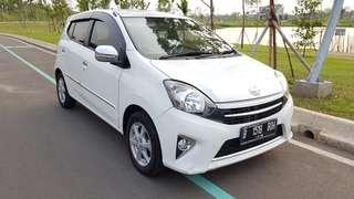 Toyota Agya G Matic 2014 Putih TDP 5jt