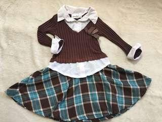 Dress for girls (4-6yo)