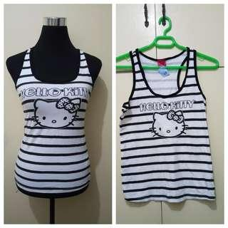 WA942 Hello Kitty Halter Top - S to M - Thrift Store Tag