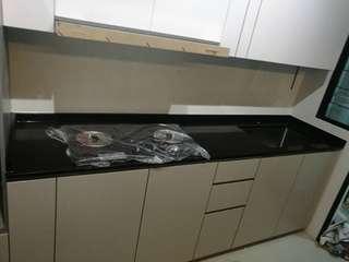 Table top polishing whole house renovation