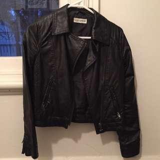 Lulu & Rose Faux Leather Jacket