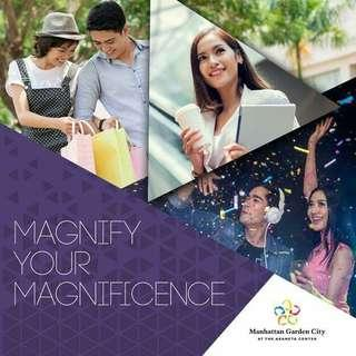 5% PROMO DISCOUNT AND FREE APPLIANCES WITH 0% INTEREST AT MANHATTAN GARDEN CITY Rent to Own Condo near at araneta center, alimall - RFO/Pre Selling 17K Monthly / STUDIO - 1BEDROOM - 2BEDROOM