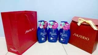 🚚 【親親小舖】禮盒SHISEIDO 資生堂 專科 超微米完美 泡泡沐浴乳 每瓶500ml 共3瓶合售 喝茶禮
