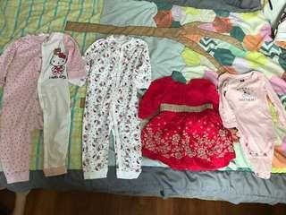 Girl clothes 1-2yrs old