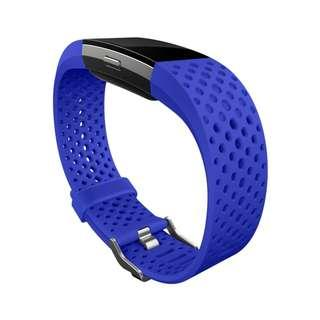 PRICE DROP!!! P999 ONLY!!! Fitbit Charge 2 Cobalt Blue Sport Band (Brand new, with box) Limited Edition