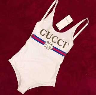 Gucci Swimsuit Beach Summer One Piece Swimwear
