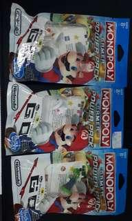Monopoly gamer additional character (Toad, Boo, Luigi)