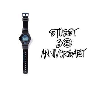 Stussy 30th Anniversary x g-shock