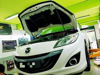 Mazda Upgrading Repairing Works