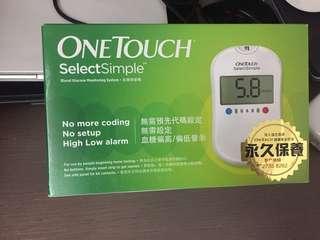 全新One Touch血糖機