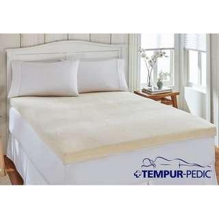 Tempur Mattress Overlay Queen Sized going at S$490