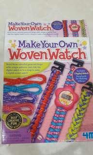 4m Woven Watch art making
