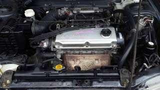 Engine  4g92/4g93 soch buka dari halfcut
