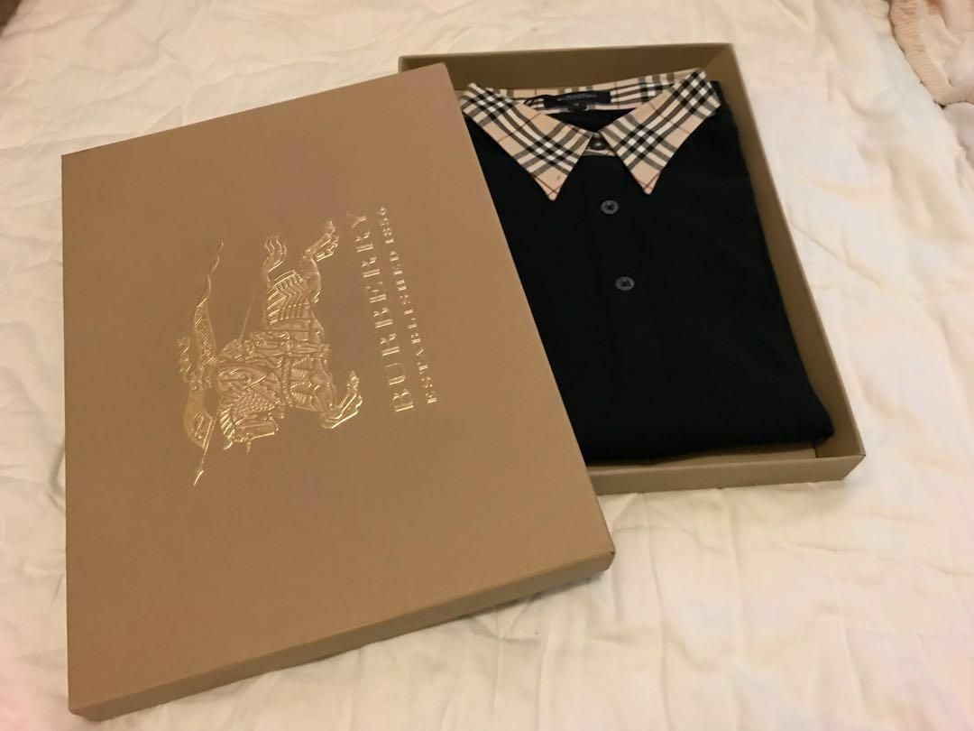 100% New Burberry Polo T