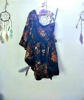 Charlotte Russe one-shoulder dress