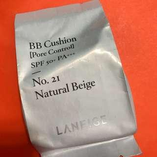 Laneige BB Cushion Refill - #21 Natural Beige 📬包郵