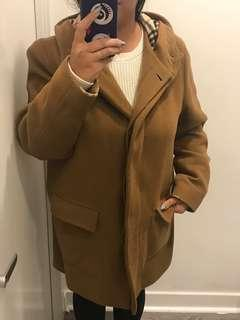 Authentic Women's Burberry Wool Coat
