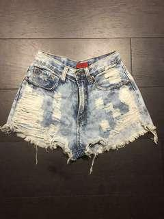 Naked Wardrobe high waisted shorts