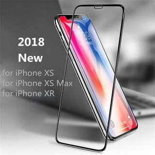 IPhone Xs Xs Max Xr 6D Full Screen Protector Tempered Glass