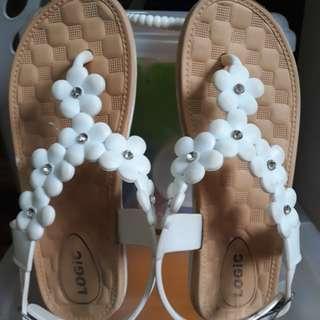 White Sandals (insole 19.5cm