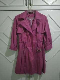 Not used Authentic Topshop Belted Coat