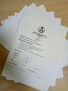 #Blessings: P6 Science Top School Exam Papers (6 sets)