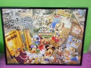 Mickey & Minnie Frame up Jigsaw Puzzle