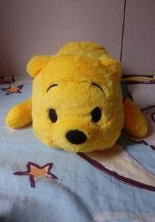 小熊維尼 Winnie The Pooh 趴趴公仔 45cm長