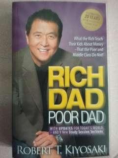 Free Shipping!!!! RICH DAD POOR DAD by Robert T. Kiyosaki