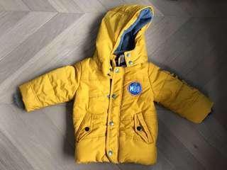 全新歐美品牌 MEXX BB 保暖夾棉外套褸 baby winter jacket not zara