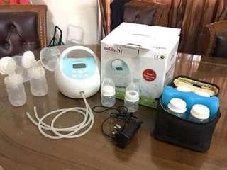 Spectra S1 hospital grade breastpump and accessories
