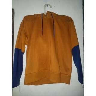 Comby Hoodie Gold