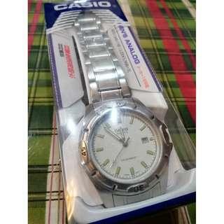 Casio Analog MTP-1244D-7AJF Watch w/ Metal Strap