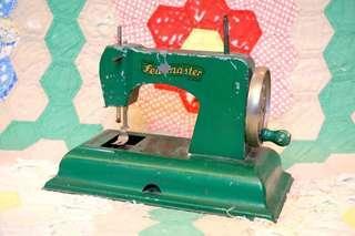 KAY-an-EE Sew Master墨綠工業風古董玩具縫紉機