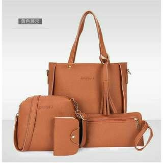 4 in 1 KOREAN BAGS (BRAND NEW)