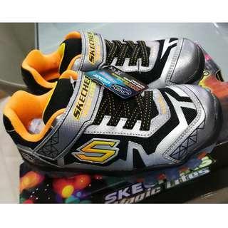Skechers with Light US1 EU32 UK13 20CM for Boy