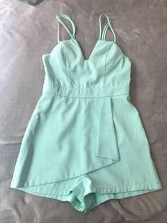 Valley girl playsuit