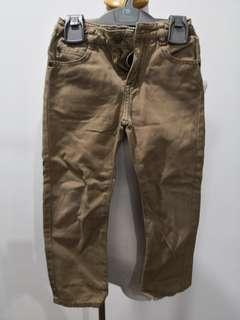 Poney Khaki Pants 3-4 years #OCT10