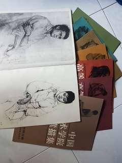 Charcoal drawing books