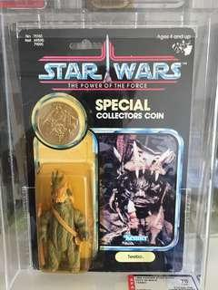 Vintage Star Wars-rare potf  Afa teebo