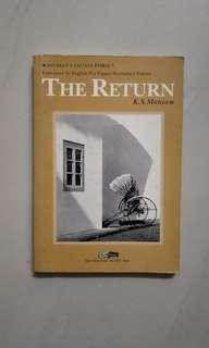 The Return author by K. S. Maniam - Literature