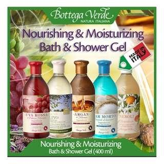 🚚 Bottega Verde shower gel 400ml
