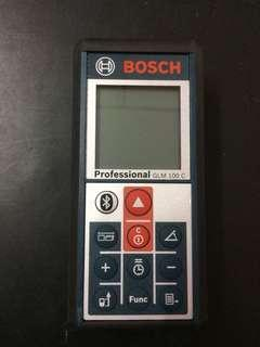 Bosch GLM 100 C laser distance meter (include casing)