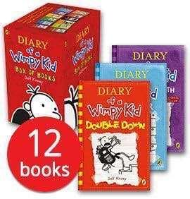 💥 NEW- Diary of Wimpy Kid 12 books set - NEW ARRIVAL SET