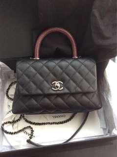 Chanel Coco Handle mini 黑